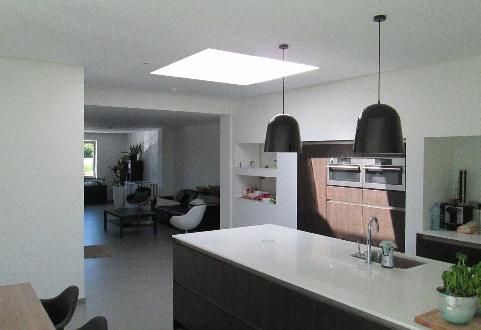 halfopen ngezinwoning renovatie uitbreiding studio tec. Black Bedroom Furniture Sets. Home Design Ideas